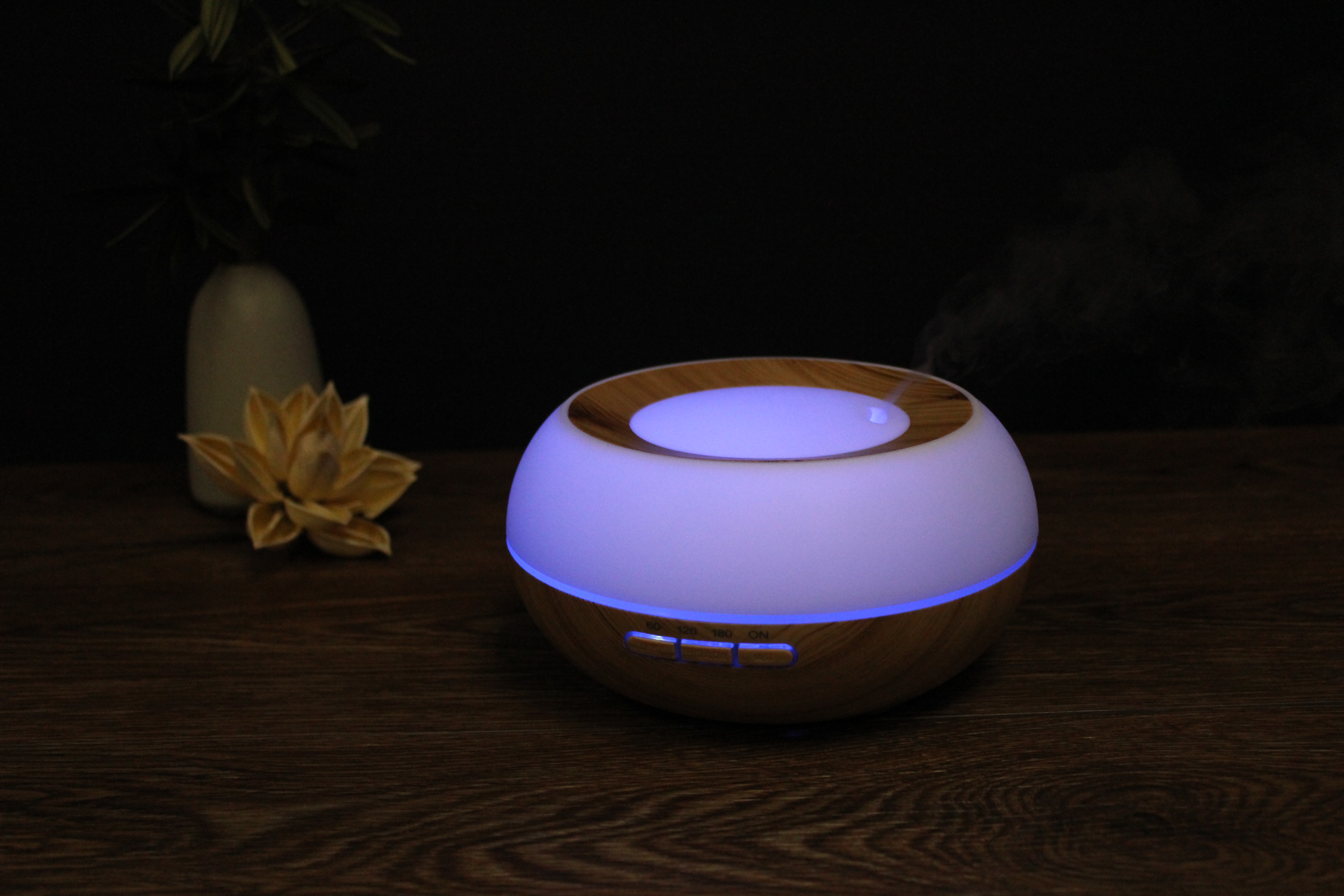 Ultrasonic Aroma Diffuser Humidifier Moon Space For Office