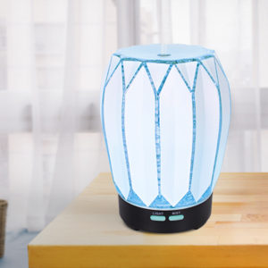 wood glass mist diffuser pearl