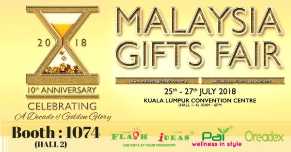 Malaysia Gifts Fair 2018 @ KL Convention Centre