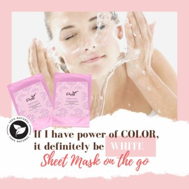 Whitening Mask – PAI® Organic Collagen Sheet Mask